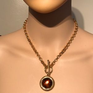 Premier Designs golden tone necklace